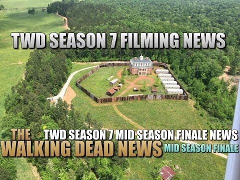 The Walking Dead Season 7 News Filming News Mid Season Finale News TWD Season 7 News Spoilers