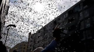ロッテマリーンズ優勝パレード一部。