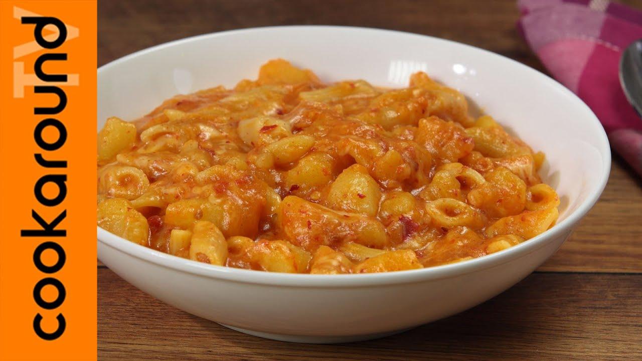 Pasta patate 39 nduja e caciocavallo ricette primi piatti for Ricette primi piatti