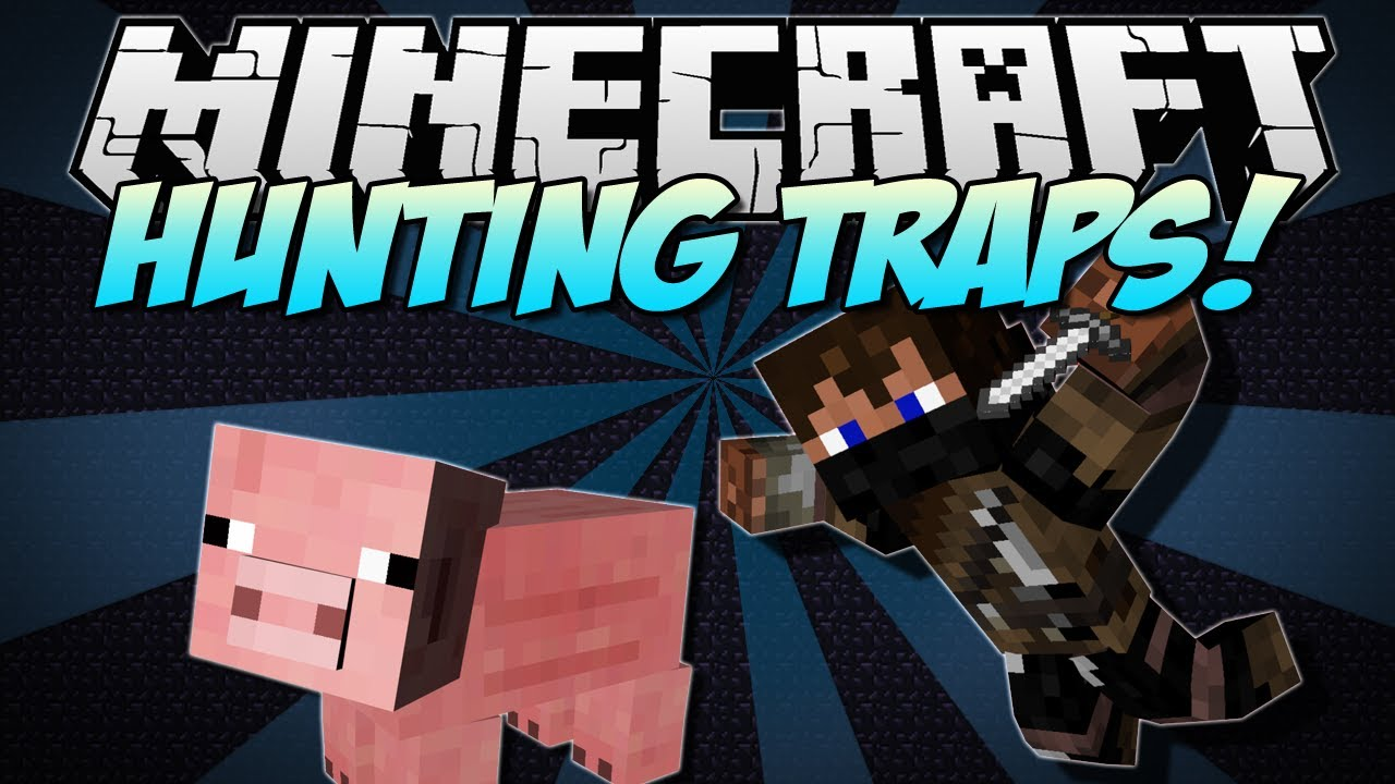 Minecraft Hunting Traps Trap Animals And Your Friends