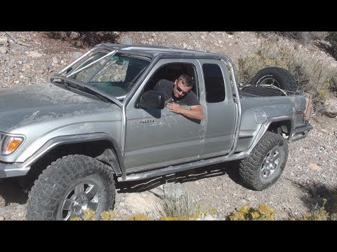 Wheeler Pass (Side Obstacle) Nissan Trail Ride Rock Crawling