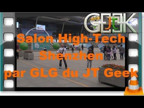 Internet Baidu et 360 au salon High Tech Chine 2013 par le JT Geek