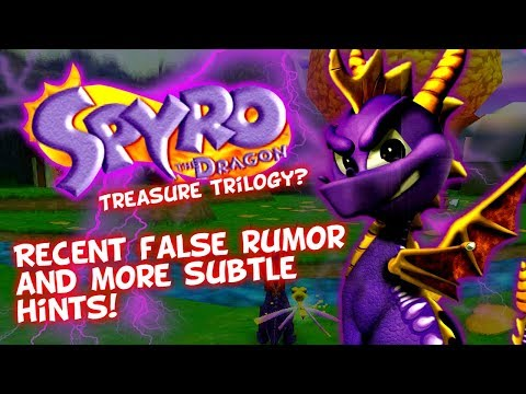 Spyro Treasure Trilogy? - Recent False Rumor - Two Games Complete? Stewart Copeland Not Involved?