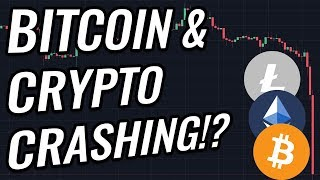 Crypto Crashing, New Lows For 2018 Confirmed In Bitcoin & Crypto Markets!? BTC, ETH, XRP, & BCH News