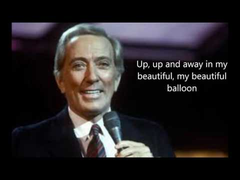 Up, Up and Away   ANDY WILLIAMS (with lyrics)