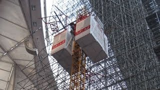 Construction Elevator,building Hoist,construction Lift,passenger And Material Hoist,material Lift