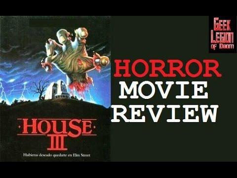 HOUSE III : THE HORROR SHOW ( 1989 Lance Henriksen ) Movie Review Arrow films collection