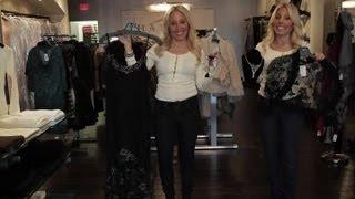 How to Accessorize a Black Spaghetti Strap Evening Gown : Fine Clothes