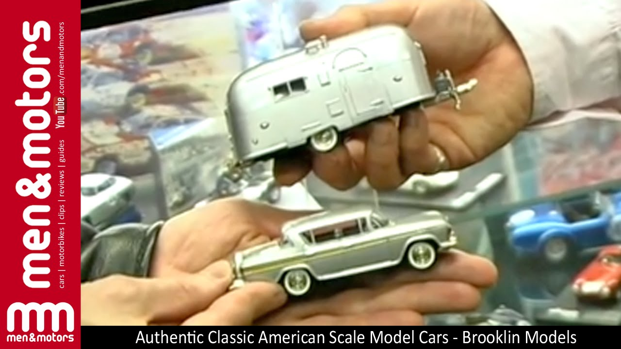 Authentic Classic American Scale Model Cars Brooklin Models