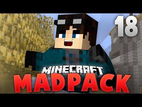 Minecraft - EthanRModded | MadPack #18 | Aether Manipulator + Gold = OP