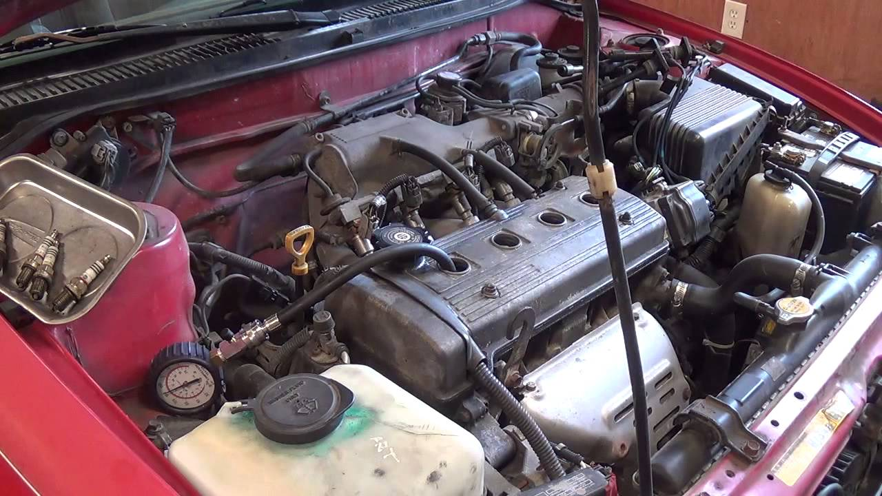 Toyota 1 6 1 8l Oil Burning 96 Geo Prizm Part 1 Of 4 Youtube