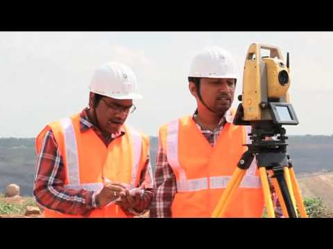 3D Terrestrial Laser Scanner System- Coal India ltd.