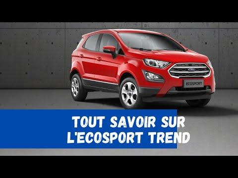 Ford Ecosport Trend 2019 Visite intérieur extérieur