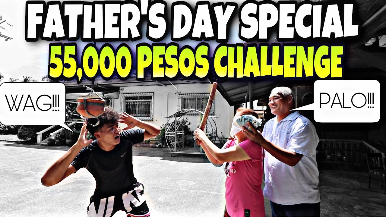 SURPRISE FATHER'S DAY BIRTHDAY SPECIAL CHALLENGE!!(LAPTRIP SI DADDY KAP)