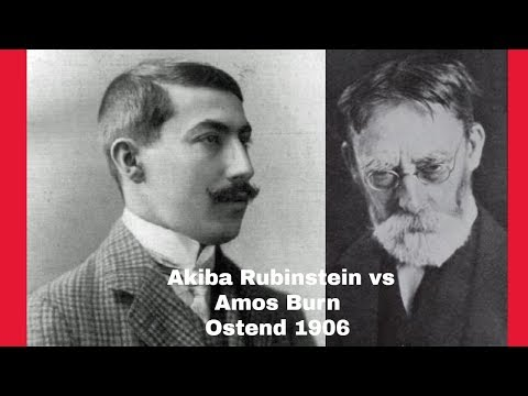 Learn From The Old Masters | Akiba Rubinstein Vs Amos Burn: Ostend 1906