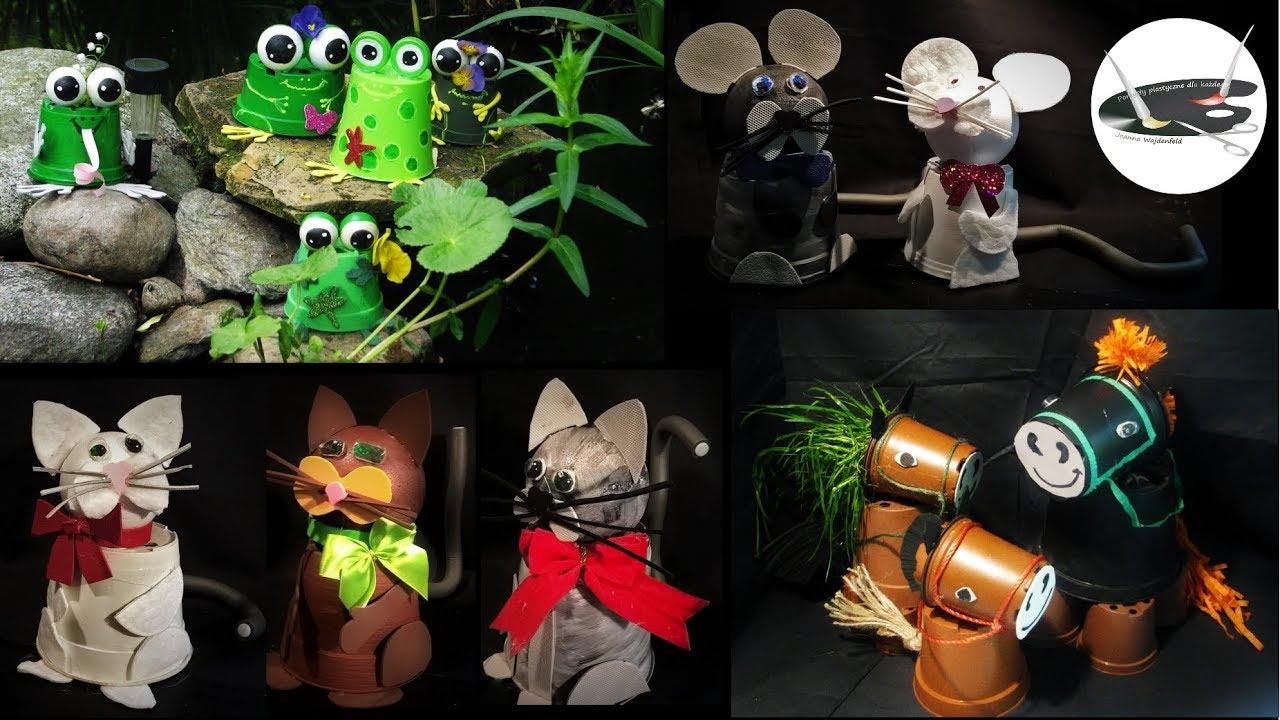 Jak Zrobić Zwierzęta Z Doniczek Pomysły Plastyczne Dla Każdego
