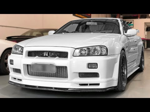 INSANE 2Step - R34 GTR Launch!
