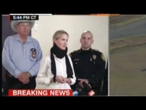 Police Press Conference On Texas Church Shooting