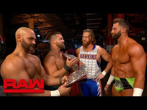 Zack Ryder & Curt Hawkins want a Raw Tag Team Title Match at WrestleMania: Exclusive, April 1, 2019