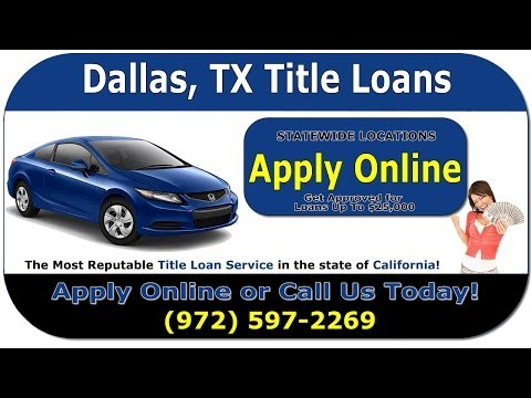 Car Title Loan Borrowing Avoiding Repossession from YouTube · Duration:  45 seconds