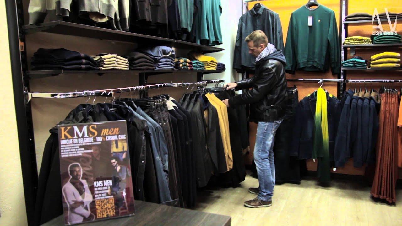 Kms men boutique de v tements pr t porter et accessoires pour hommes la louvi re youtube - Pret a porter homme haut de gamme ...