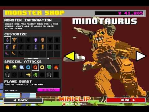 Играем за человека в игре Man or Monster!
