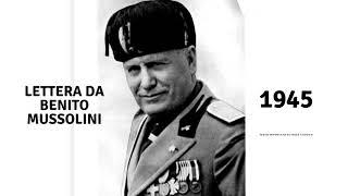 Lettera da Benito Mussolini - Nik