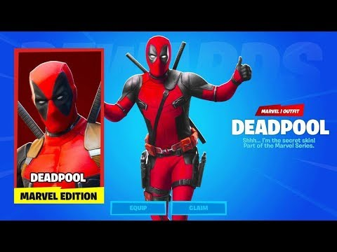 UNLOCKING Deadpool Skin FREE In Fortnite Chapter 2 Season 2