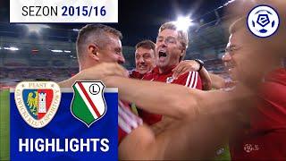 Piast Gliwice - Legia Warszawa 2:1 [skrót] sezon 2015/16 kolejka 05