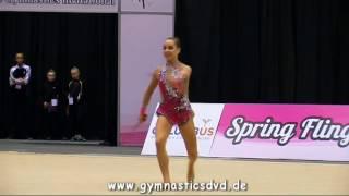 Anfisa Kupriyanova - Level 10 Senior 08 - Spring Fling Columbus 2016