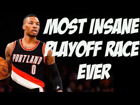 Making Sense of The Insane Western Conference Playoff Race