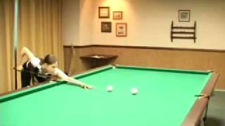 Урок бильярда 4 отрабатываем прямые удары