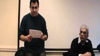 18-03-2012 London: Seminar on Oppressed and Occupied Nations - Ali Has Speech
