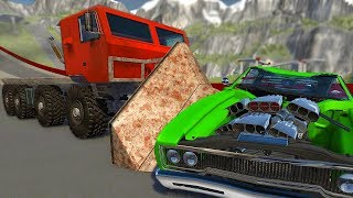 We Drive The Biggest Truck in BeamNG Drive - BeamNG Drive