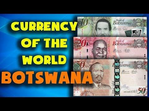 Currency Of The World - Botswana. Botswana Pula. Exchange Rates Botswana.Botswana Banknotes