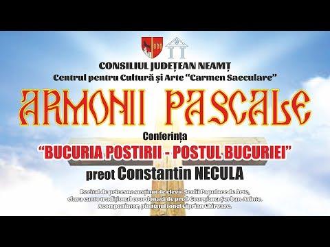 """Pr. Constantin NECULA - Conferința """"Bucuria postirii – Postul bucuriei"""""""