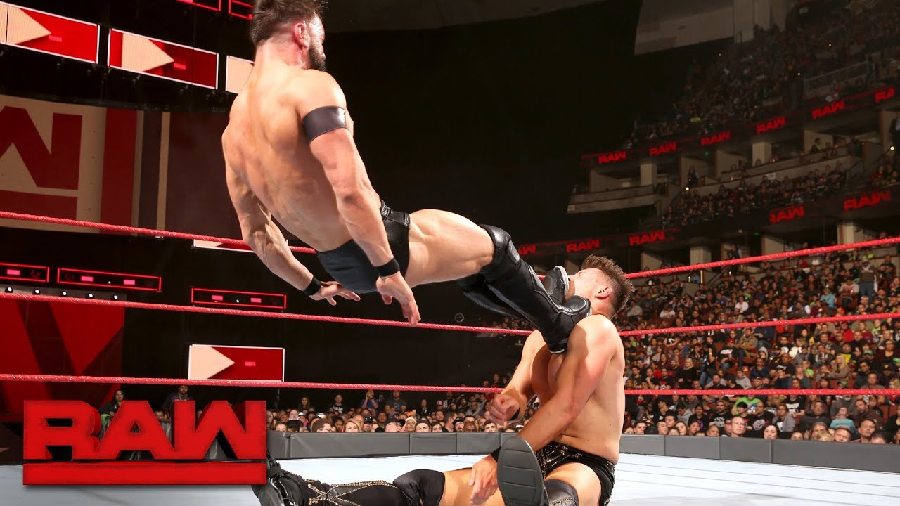 Finn Bálor vs. The Miz: Raw, Feb. 26, 2018