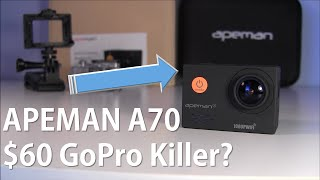 60 gopro killer apeman a70 action camera full review   the fly guy