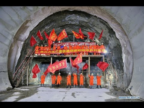 Humaling Tunnel Documentary-决胜胡麻岭-胡麻岭隧道攻克纪实