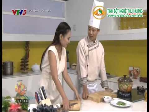 Canh khổ qua rừng nấu cá thác lác-Món ngon Việt Nam