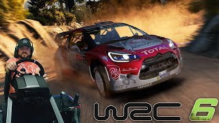 Жогово на бездорожье World Rally Championship 6 + руль Fanatec CSL Elite PS4