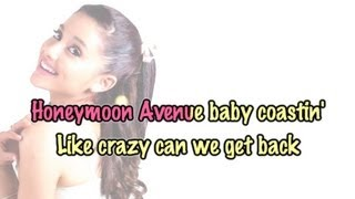 Ariana Grande - Honeymoon Avenue [ Piano Karaoke / Instrumental ]