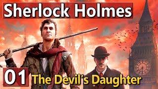 Sherlock Holmes ermittelt wieder! ► PREVIEW GAMEPLAY ► Devils Daughter deutsch