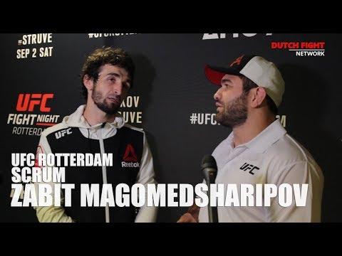 UFC Rotterdam: Scrum with Zabit Magomedsharipov