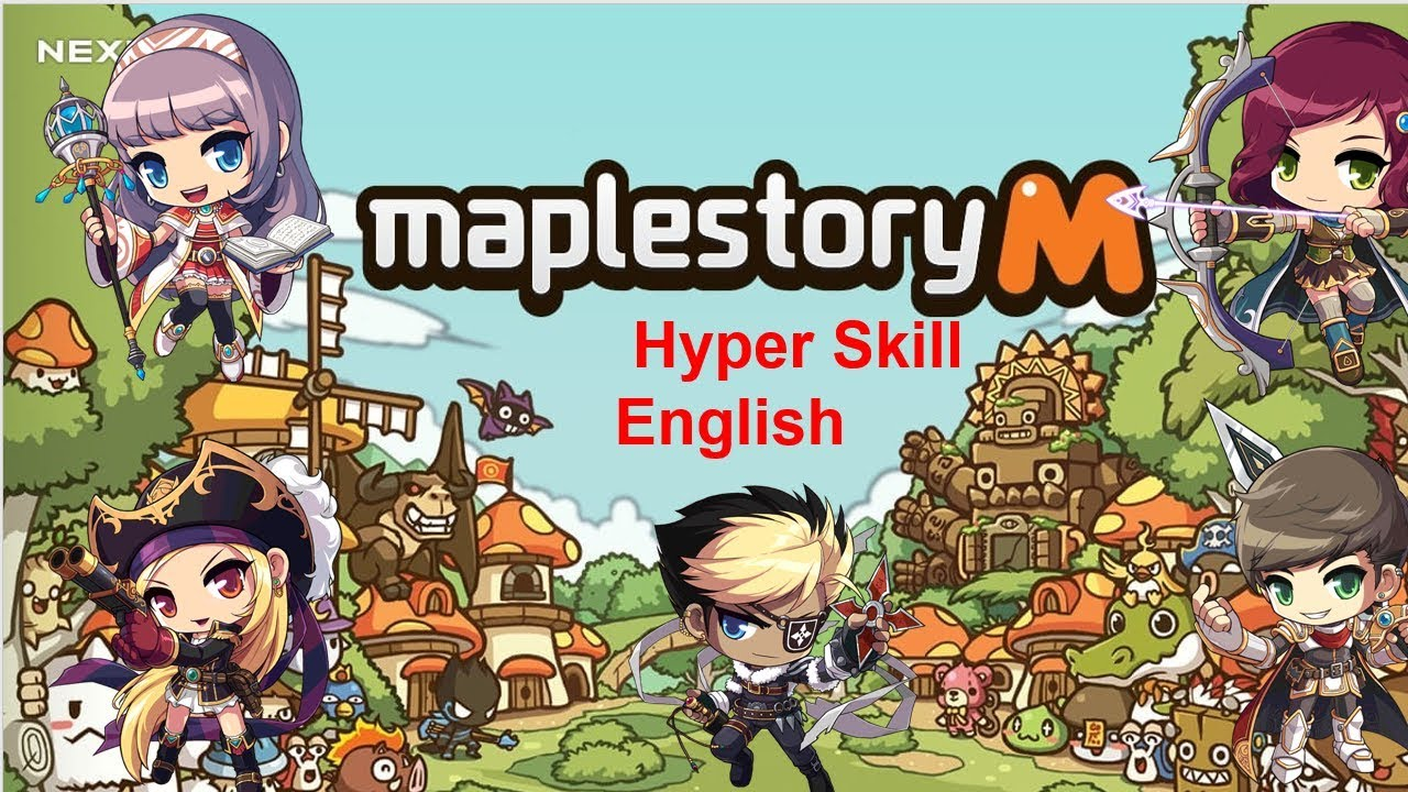 maplestory m night lord hyper skill