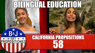 Prop 58: Bilingual Education