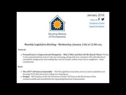 Legislative Briefing January 11