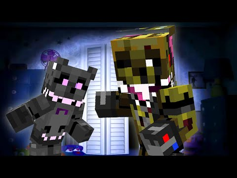 Five Nights at Freddy's Nightmare - Night 4 (Minecraft Roleplay)
