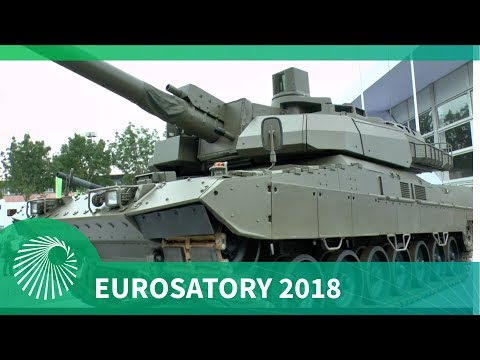 Eurosatory 2018: KNDS presents joint Franco-German tank demonstrator