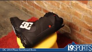 DC 2014 Phase Snowboard Boots